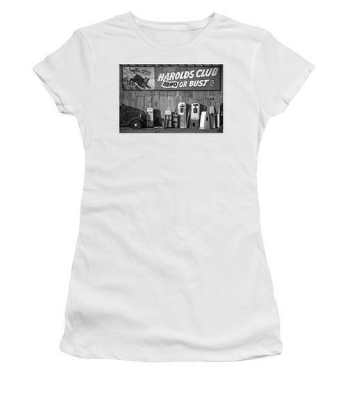 Harold's Club Women's T-Shirt (Athletic Fit)