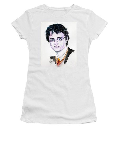Harry Potter Women's T-Shirt (Junior Cut) by Maria Barry