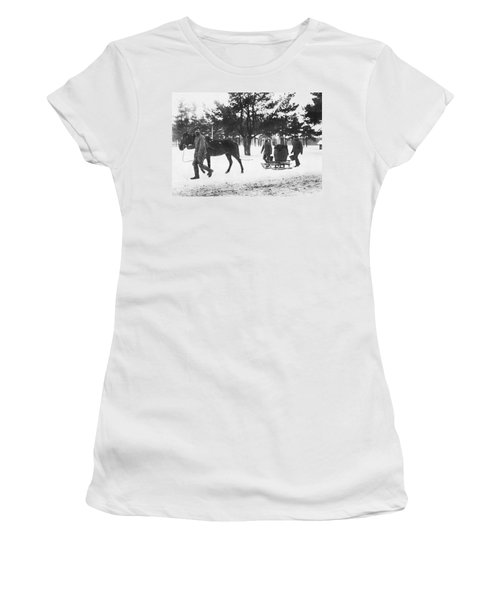 Hauling Water For Trenches Women's T-Shirt