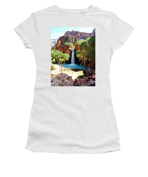 Havasu Falls - Havasupai Indian Reservation Women's T-Shirt