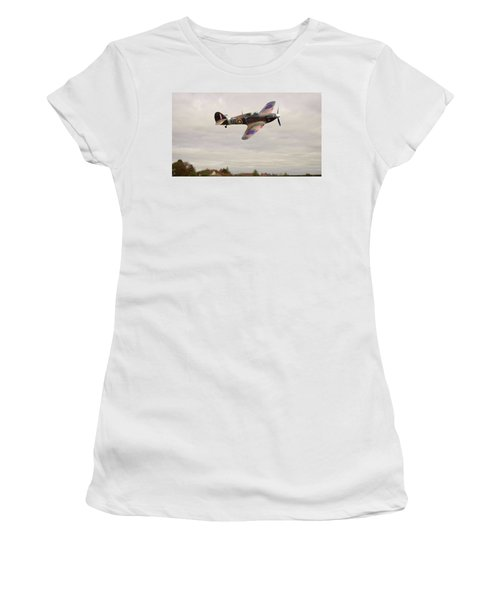 Hawker Hurricane -2 Women's T-Shirt (Junior Cut) by Paul Gulliver