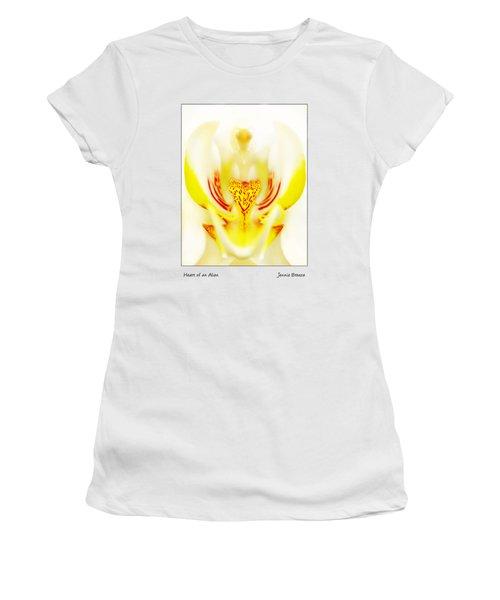 Heart Of An Alien Women's T-Shirt (Athletic Fit)