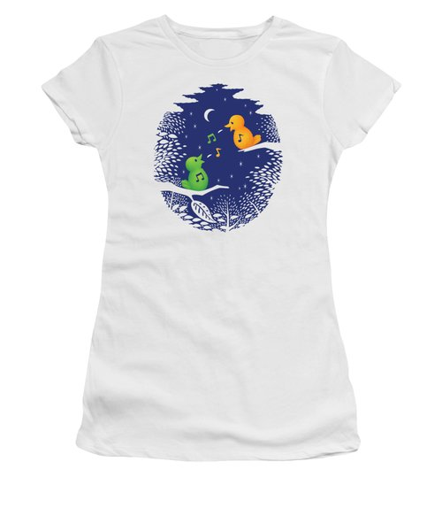 Heart Song Women's T-Shirt (Athletic Fit)