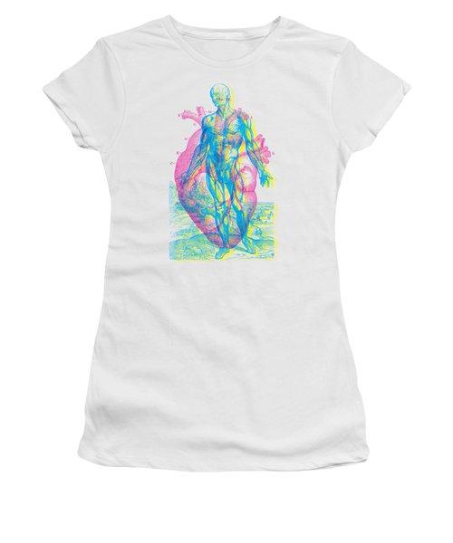 Heart-venus Women's T-Shirt (Athletic Fit)
