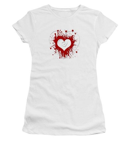 Hearts Graphic 1 Women's T-Shirt