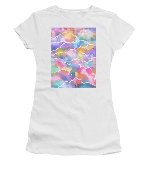 Heavenly Clouds Women's T-Shirt (Athletic Fit)