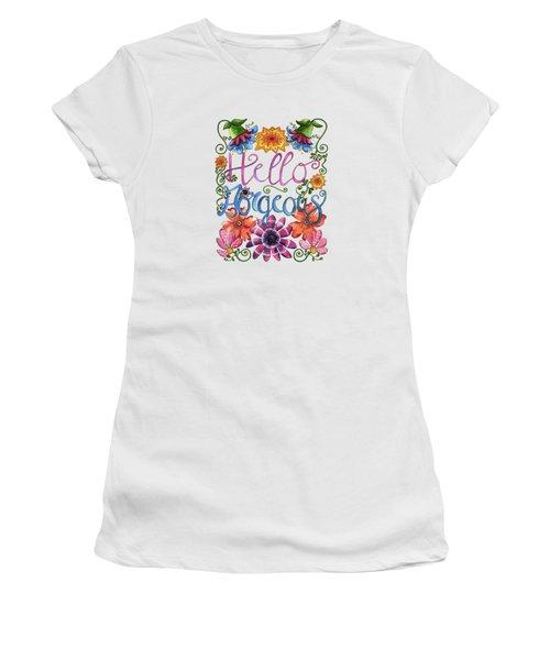 Hello Gorgeous Plus Women's T-Shirt (Athletic Fit)