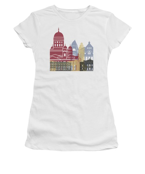 Helsinki Skyline Poster Women's T-Shirt