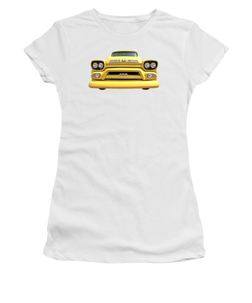 Here Comes The Sun - Gmc 100 Pickup 1958 Women's T-Shirt (Athletic Fit)