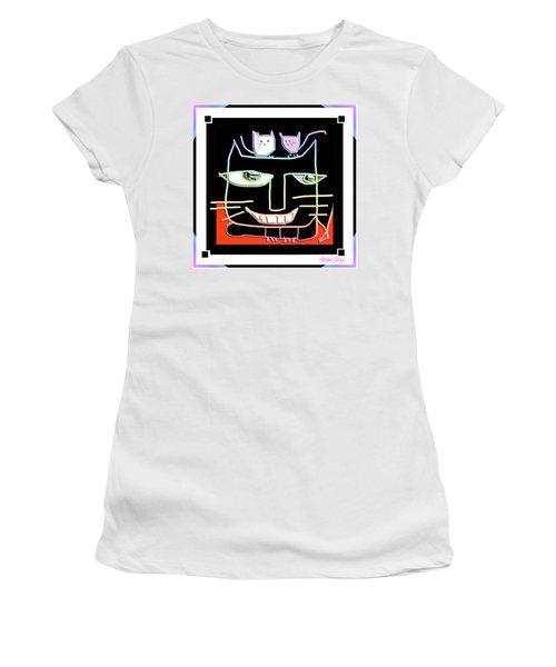 Here,  Kitty Kitty Women's T-Shirt