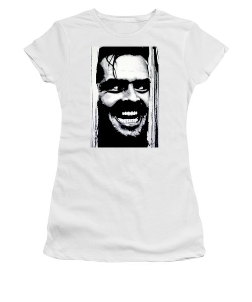 Heres Johnny Women's T-Shirt (Athletic Fit)