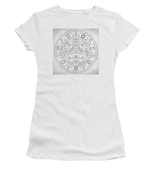 Hermetic Principles Women's T-Shirt (Athletic Fit)