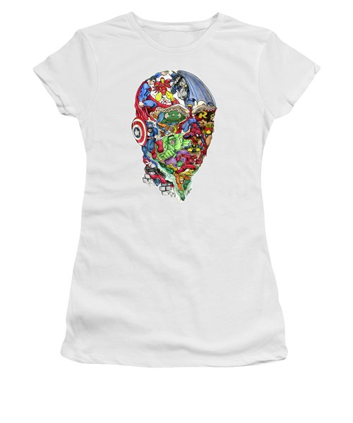 Heroic Mind Women's T-Shirt (Athletic Fit)