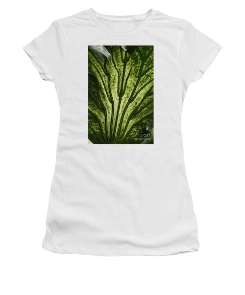 Hibiscus Tiliaceus Variegata 2 Women's T-Shirt (Athletic Fit)