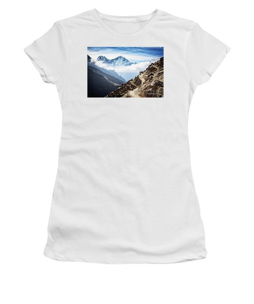 High In The Himalayas Women's T-Shirt