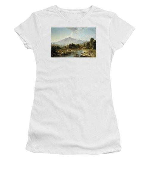 High Point  Shandaken Mountains, 1853 Women's T-Shirt