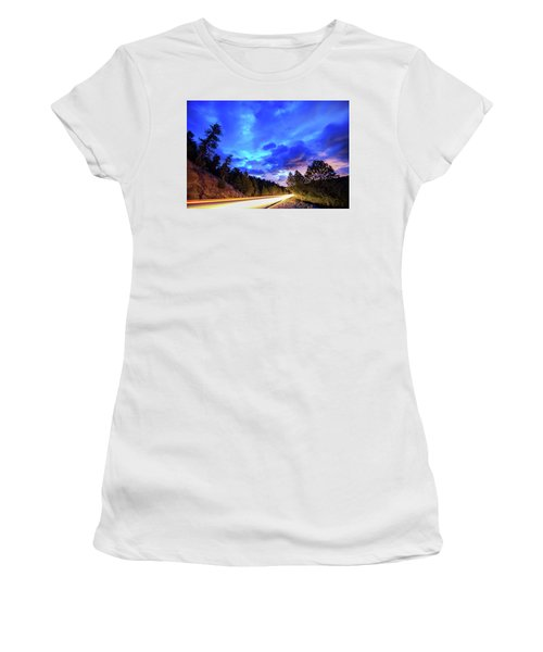 Highway 7 To Heaven Women's T-Shirt (Junior Cut) by James BO Insogna