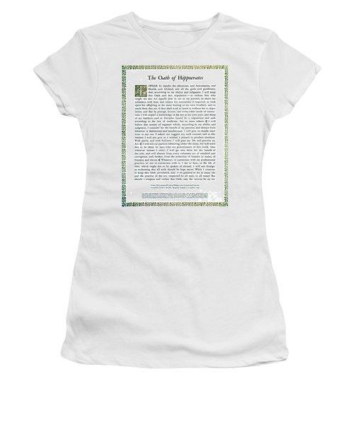 Hippocratic Oath, 1938 Women's T-Shirt