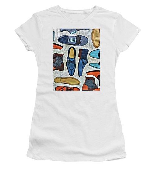 His Shoes Women's T-Shirt