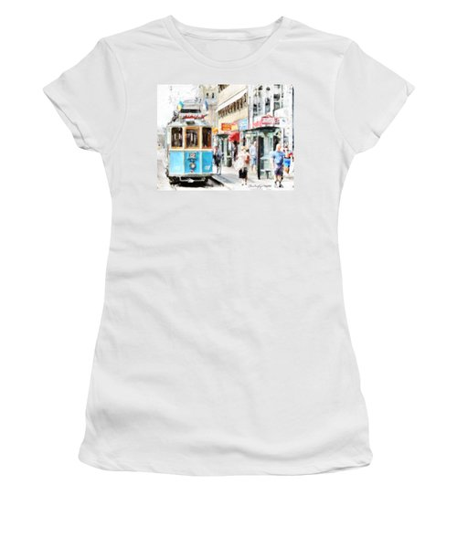 Historic Stockholm Tram Women's T-Shirt