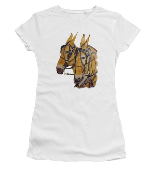 Hitched #2 Women's T-Shirt (Junior Cut) by Gary Thomas