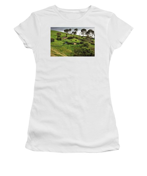 Hobbit Valley Women's T-Shirt (Athletic Fit)