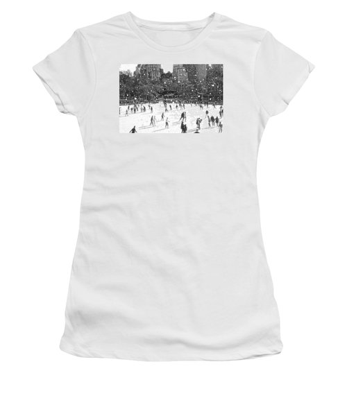 Holiday Skaters Women's T-Shirt (Athletic Fit)
