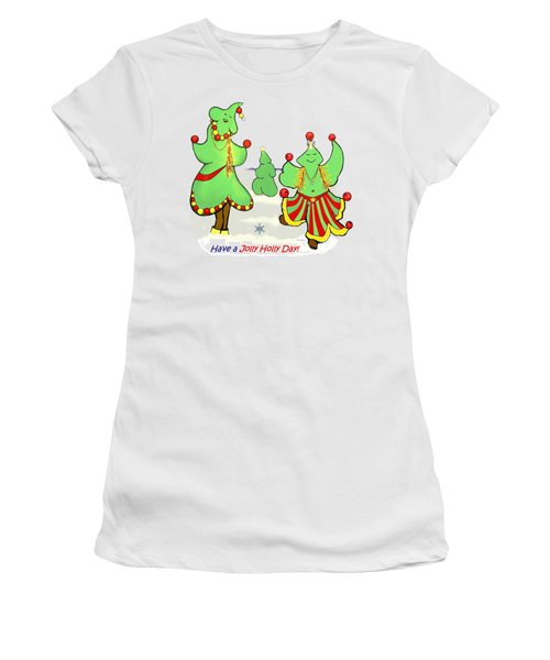 Holly Day Shirt For Children Women's T-Shirt (Athletic Fit)