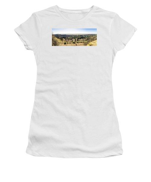 Hollywood Women's T-Shirt (Junior Cut) by Michael Weber
