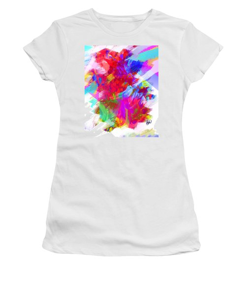 Women's T-Shirt (Junior Cut) featuring the digital art Holy Town by AC Williams