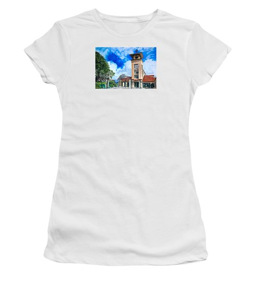 Holy Trinity Women's T-Shirt (Junior Cut) by Lance Gebhardt
