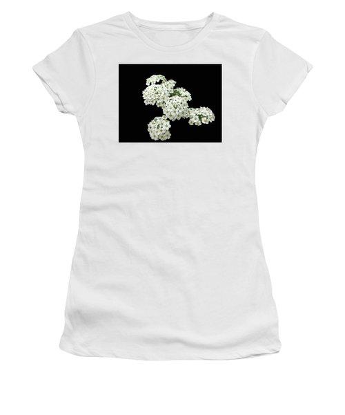Home Grown White Flowers  Women's T-Shirt