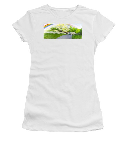 Hopeful Sojourn Women's T-Shirt (Athletic Fit)