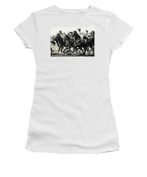Horse Competition Vi - Horse Race Women's T-Shirt