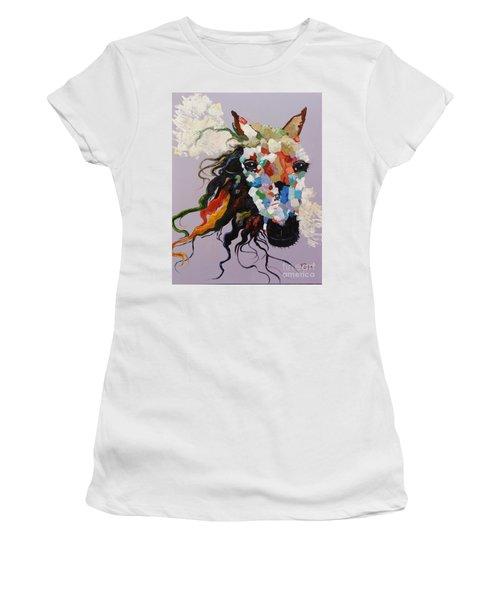 Puzzle Horse Head  Women's T-Shirt