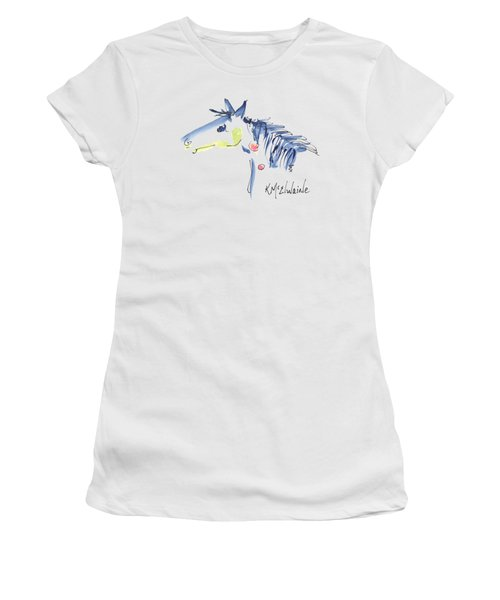 Horse Of A Different Color Women's T-Shirt (Athletic Fit)