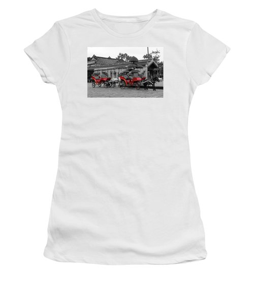 Horses And Carriages Women's T-Shirt