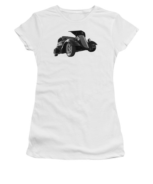 Hot '34 In Black And White Women's T-Shirt