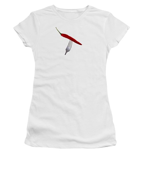 Hot Bite Women's T-Shirt (Athletic Fit)