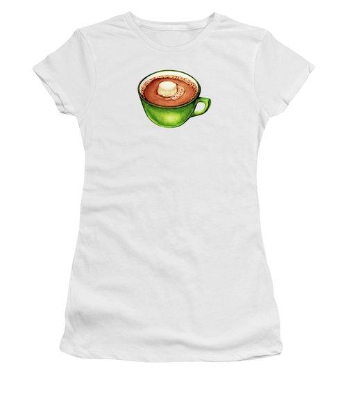 Hot Cocoa Pattern Women's T-Shirt