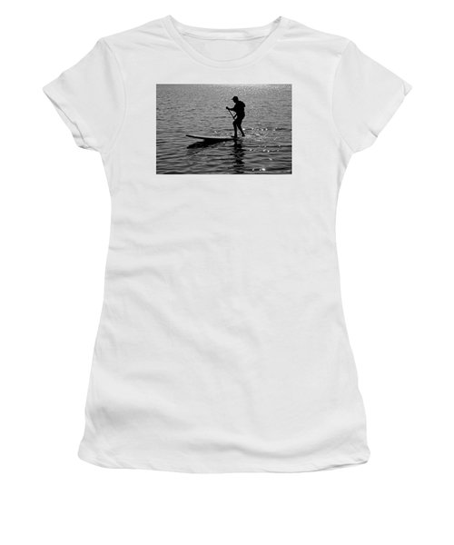 Hot Moves On A Sup Women's T-Shirt