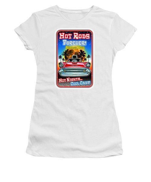 Hot Rods Forever Summer Tour Women's T-Shirt