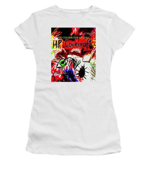 Hp Lovecraft Poster  Women's T-Shirt