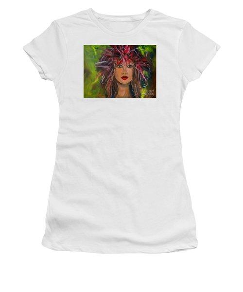 Hula Haku Lei Women's T-Shirt (Athletic Fit)