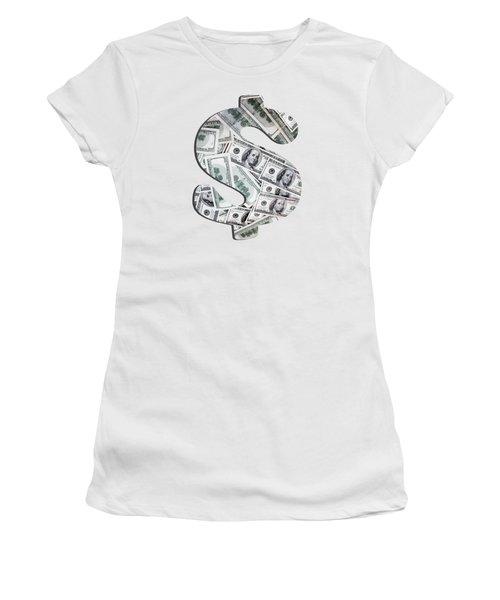 Hundred Dollar Bills Women's T-Shirt