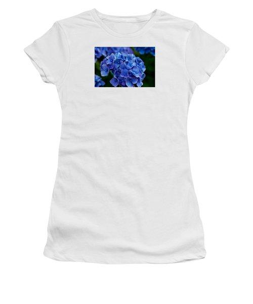 Hydrangea  Women's T-Shirt (Junior Cut) by Dennis Eckel