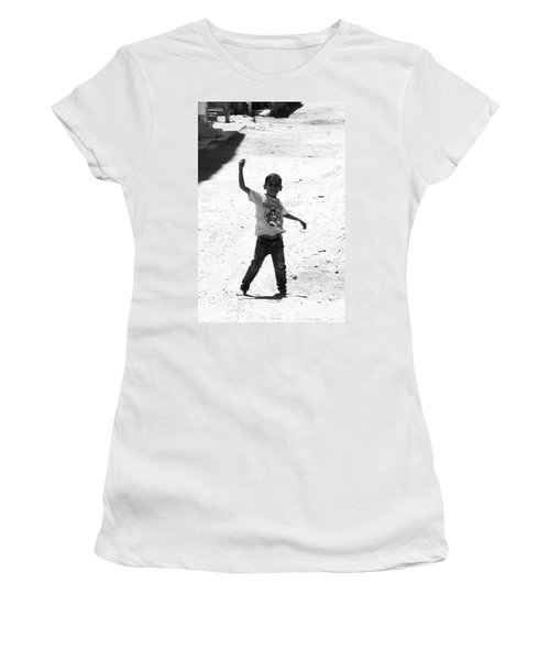 I Am The Champion  Women's T-Shirt (Junior Cut) by Jez C Self