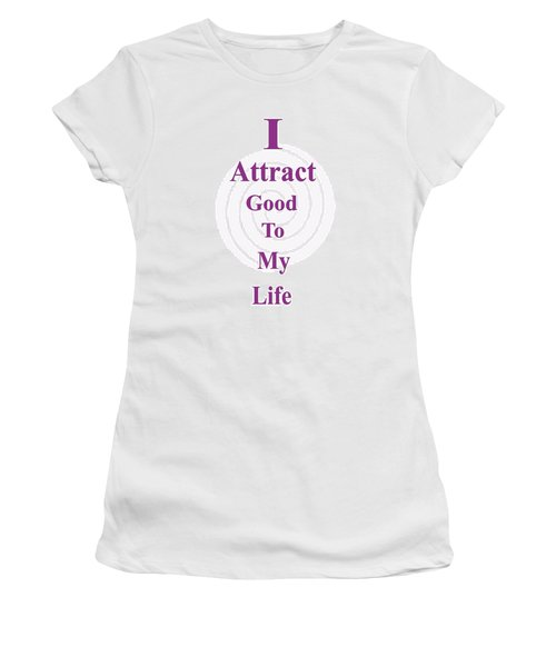 I Attract Women's T-Shirt (Athletic Fit)