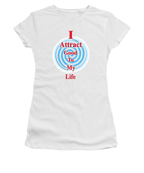 I Attract Red White Blue Women's T-Shirt (Athletic Fit)