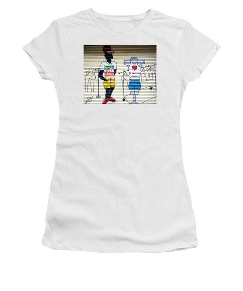 I Heart Barcelona Women's T-Shirt (Athletic Fit)